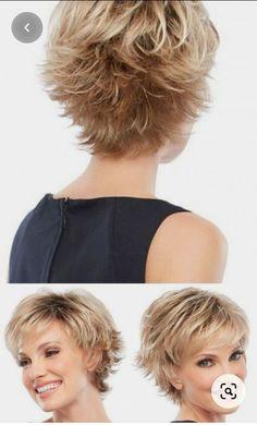 Shaggy Short Hair, Short Shag Hairstyles, Short Layered Haircuts, Short Thin Hair, Short Grey Hair, Short Hair With Layers, Short Hairstyles For Women, Short Haircut, Cat Haircut