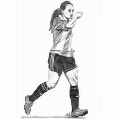 Resultado de imagen para futbol femenino dibujos #futbolfemenino #futboldibujos