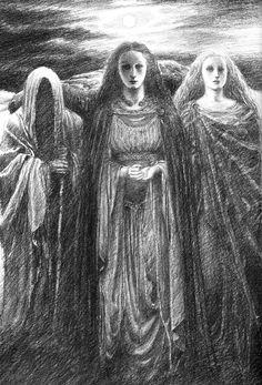 Art by Alan Lee from Merlin Dreams by Peter Dickinson (Delacorte Press, 1988)