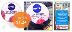 Rite Aid released a high-value coupon for Nivea Rasberry Lip Butter on their Facebook page yesterday. Buy two tins and stack a $3.00 Smart Source coupon with a $2.50 Rite Aid coupon. Each tin is $1.24! This is a Buy & Earn product! Speed Stick Gear Deodorant, Only $0.49 at Rite Aid!