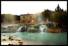 Hot Springs in Tuscany...want to go here right NOW!!! Terme di Saturnia by JarleR, via Flickr