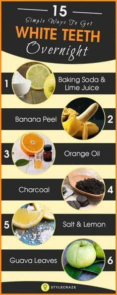 """Simple Ways To Whiten Teeth Naturally At Home """"You will find that life is still worthwhile, if you just smile,"""" said Charlie Chaplin. But what if you have yellow teeth? Here is how to get white teeth naturally Teeth Whitening Methods, Natural Teeth Whitening, Whitening Kit, Crest Whitening, Skin Whitening, Charcoal Teeth Whitening, Homemade Teeth Whitening, Tooth Whitener Homemade, Home Remedy Teeth Whitening"""