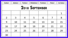 Blank 2020 Calendar Printable PDF Word Page Excel Templates & Holidays - 2018 Calendar Template, Hindu Calendar, August Calendar, Printable Blank Calendar, School Calendar, Calendar Printable, Attendance Sheet, Moon Phase Calendar, September