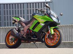 Racing Cafè: Kawasaki Ninja 1000 (Z 1000 SX) by Shabon Dama