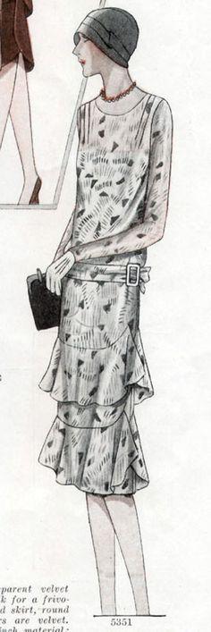 McCall 5351 1928 B