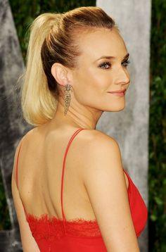 Diane Kruger Oscar Hairstyles Celebrity Hairstyles Diane Kruger Oscars  Linda E
