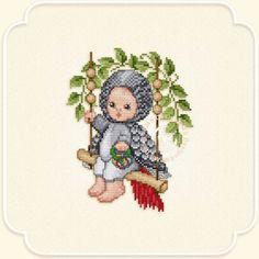 "Ellen Maurer-Stroh ""Gray Parrot Baby"" ~ Saved from delfin.gallery.ru"
