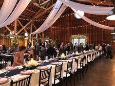 visionscatering.com #ncbride #wedding #catering #floral #decor #weddingreception #weddingdesigns #receptiondecor #weddingcatering  #barn #swag Reception Decorations, Table Decorations, Event Company, Wedding Catering, Wedding Designs, Centerpieces, Table Settings, Swag, Barn