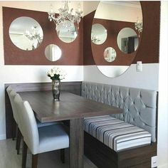Bathroom Decorating – Home Decorating Ideas Kitchen and room Designs Decor, Dining Nook, House Interior, Dining Room Design, Interior, Room Design, Dining Room Small, Dining Room Decor, Apartment Decor