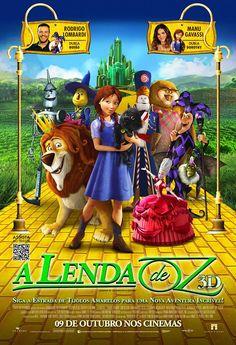 """""""A Lenda de Oz"""" estreia em 09 de outubro. Trailer: http://youtu.be/opFqE6Cbr0w"""