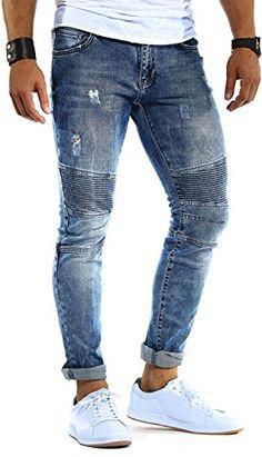 04251510261467 Bei Amazon   LEIF NELSON Herren Hose Jeans Stretch Jeanshose  Chino Cargo Hose Jogger Freizeithose Denim Slim Fit LN9280  W29L32, ... ff12198cc4