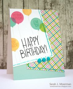 My Impressions: Simon Says Stamp September Card Kit: Happy Birthday (& GIVEAWAY)!