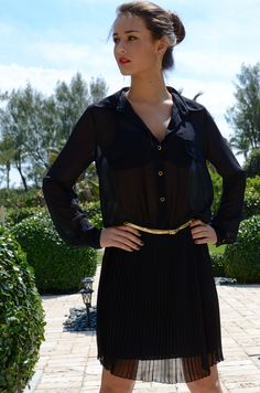 Thinking about how to be not so basic in my Black Dress...  Odessa Dress - www.LTBrazil.com