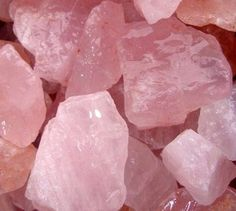 WHOLESALE 1 Lb Lot ROSE QUARTZ Crystals - Natural Pink Quartz Crystal Tumbling Facet Wire Wrap Bead Rough from Brazil by GeoSpecimens  Weight:
