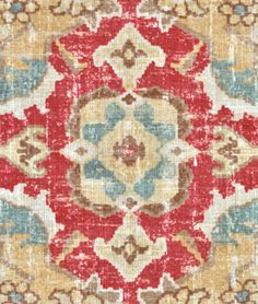 Covington Jaipur Moroccan Red Fabric