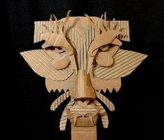 Výsledek obrázku pro diy cardboard masks basic face