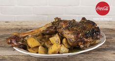 Greek lemon roast lamb and potatoes by the Greek chef Akis Petretzikis. Make easily a traditional dish full of flavors and aromas! The perfect Sunday roast! Greek Recipes, Raw Food Recipes, Cooking Recipes, Sunday Roast, Good Fats, Potato Recipes, Cooking Time, Roast Lamb, Food Porn