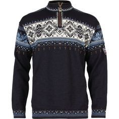 Dale of Norway Blyfjell Sweater Men - Pullover - navy blue - Gr.xl Dale of NorwayDale of Norway Mens Knit Sweater, Nordic Sweater, Ski Sweater, Sweater Outfits, Casual Outfits, Long Sleeve Undershirts, Outdoorsy Style, Norwegian Knitting, Snowboarding Outfit