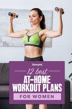 Whether youre a stay at home mom that cant get to the gym or you simply dont want to pay for a membership these 12 at-home workouts will make you feel fitter than ever! They will work your entire body sculpting your muscles and shredding excess fat. Easy At Home Workouts, Best At Home Workout, At Home Workout Plan, Fun Workouts, Workout Plans, Workout Routines, Workout Ideas, Workout Plan For Women, Diet Plans For Women