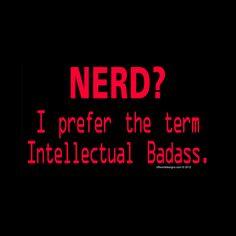 Intellectual Badass Ladies V-neck T-Shirt