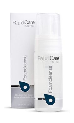 REJUDICARE SYNERGY FOAMCLEANSE.  $45.00 CAD.  ULTRA GENTLE FOAMING CLEANSER.  A blend of natural ingredients that prepares the skin for a complete daily care routine. 150ml.  All components derived from natural sources.  Formulated with the purest, most gentle ingredients.  Efficiently removes makeup, oil and other impurities.  Non drying and soothing Light, non-irritating,  For sensitive or ultra-sensitive skin and skin redness or rosacea prone skin. #RejudiCare #rosacea
