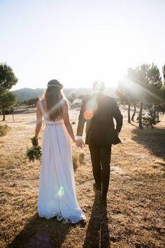 Jonathan y Claudia se casaron el pasado verano en la iglesia Pontificia de San Miguel, en Madrid. Llevaban casi cinco años juntos cuando se dieron el