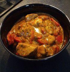 Low carb Hähnchengulasch-Suppe 1