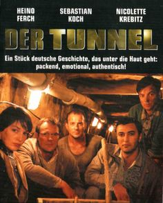 Der Tunnel - based on true events, the story of a group of East Berliners who construct a tunnel under the newly built Berlin wall.