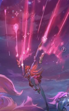 Star Guardian Miss Fortune - uploaded on League of Legends' official Facebook page! *-* <3