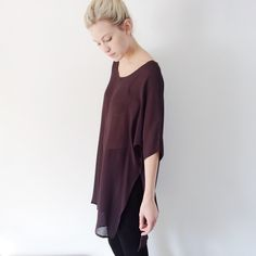 Pluma Tunic by Hackwith Design House