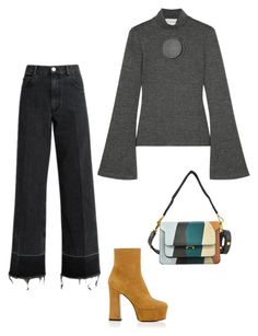"""Untitled #55"" by cuterichbitch ❤ liked on Polyvore featuring Beaufille, Yves Saint Laurent, Marni, Rachel Comey, saintlaurent, marni, rachelcomey and beaufille"