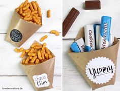 DIY Snack Bag // DIY Snack Tüte