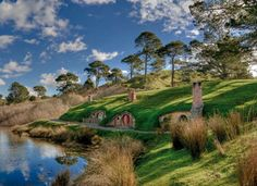 Lord of the Rings Shire in New Zealand :D