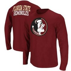 Florida State Seminoles (FSU) Touchdown Long Sleeve T-Shirt - Garnet