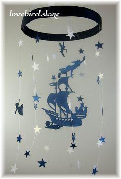 Peter Pan Nursery Mobile, Star Mobile, Nursery Bedding, Neutral Nursery Decor, B. Star Mobile, Disney Rooms, Disney Nursery, Nursery Bedding, Girl Nursery, Bedding Decor, Baby Bedding, Nursery Themes, Nursery Decor