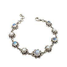 Nicky Butler Multigemstone Floral Bracelet