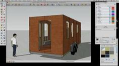 How to draw a Tiny House with Google SketchUp - Part 2, via YouTube.