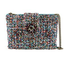 Mary Frances Carnival Mini Beaded Crossbody Bag Shimmer Handbag Purse New *** For more information, visit image link. (This is an Amazon affiliate link)
