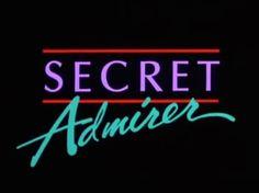 80s | Film | Secret Admirer | Lori Loughlin | Logo | Type | Text