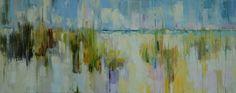 "DUNES XIX by Kim McAninch | $1000 | 48""w x 20""h | Original Art | http://www.vangoart.co/kimmcaninch/dunes-xix @VangoArt"