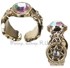 Rapunzel Wedding Tangled Ever After Disney Store Accessory Set Ring ...   <3 themarriedapp.com hearted <3
