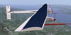 Around The World In 150 Days! Solar Powered Plane Starts Its Journey Around The World With Zero Fuel Drop.