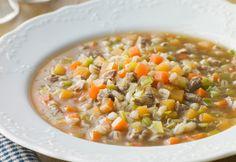 Basta con il minestrone surgelato, grazie al bimby potremo cucinare un minestrone fresco e genuino. Ecco...