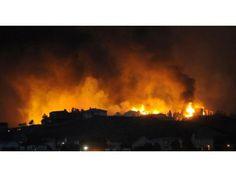 Homes in Mountain Shadows burn as the Waldo Canyon fire exploded down the foothills of Colorado Springs: Local Photo : Colorado Springs Gazette, CO