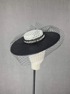 MBM2319 – Millinery By Mel Leather Design, All Design, Ivory, Hats, Hat, Hipster Hat