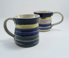 Check out this item in my Etsy shop https://www.etsy.com/ca/listing/469314028/pottery-handmade-ceramic-mugs-stoneware