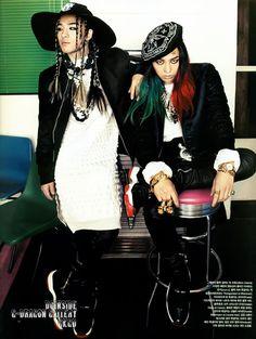 Taeyang (Dong Young-bae) and G Dragon (Kwon Ji-yong)
