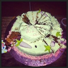 Harry's other birthday cake. One must have been for Niall