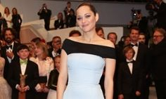 Marion Cotillard at last night's premiere of The Little Prince.