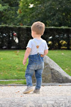 2f07b3778 toddler outfit - Emel handmade children shoes - jeans - toddler fashion -  brown brogues -